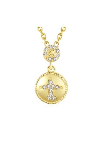 SUNRAIS gold Premium Silver S925 Gold Simple Design Necklace C395AAC1BB6782GS_1
