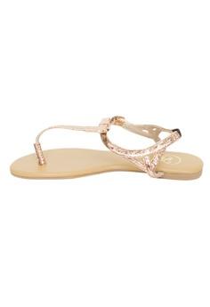 Donna T-strap Sandals
