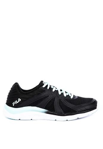 FILA black Memory Fraction 3 Running Shoes 35112SHB84253FGS_1
