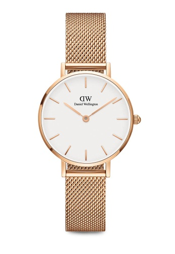 Daniel Wellington gold Petite Melrose Watch 28mm DA376AC0SBU8MY_1