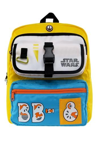 Star Wars yellow Disney Star Wars EPI9 BB8 Kids Backpack (14-INCH) BCD7AKCA6D646DGS_1