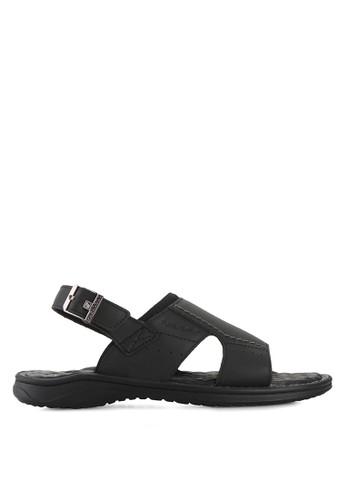 Pakalolo Boots black Sling Back Sandal PA409SH91HTKID_1