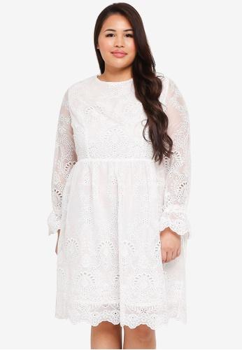 Glamorous White Lace Dress A9570aa1a19da4gs 1