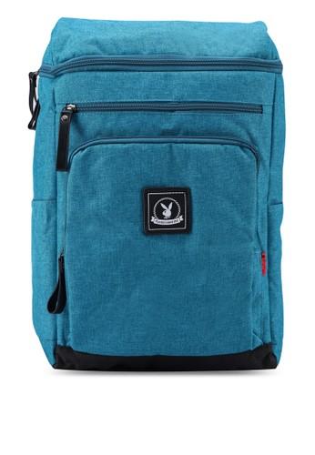 Playboy green Playboy Backpack 96E3AAC54E6308GS_1