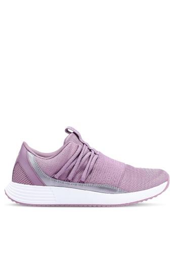 Under Armour purple UA W Breathe Lace x NM Sneakers 07B1CSH8A3EC35GS_1