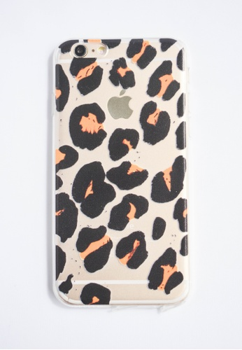 Fancy Cellphone Cases multi Leopard Transparent Soft Case for iPhone 6 FA644AC50DCVPH_1