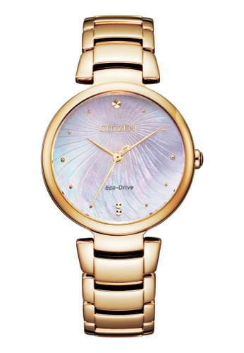 Citizen gold Citizen L Eco-Drive EM0853-81Y Rose Gold Stainless Steel Watch C015AACA675B30GS_1