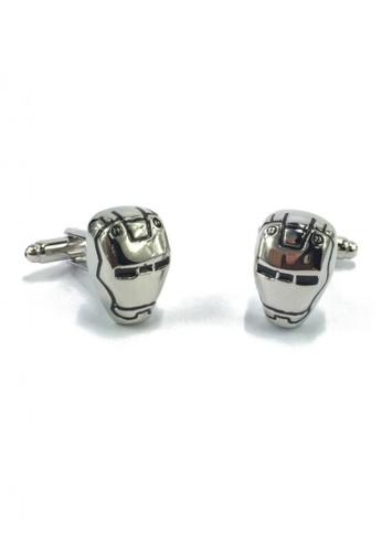 Splice Cufflinks silver War Machine Cufflinks SP744AC53EYSSG_1