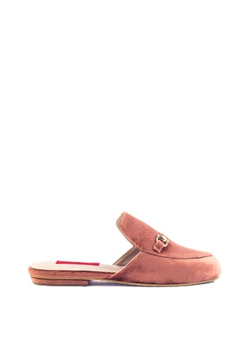 M&G brown Coreen Flats by M&G 79941SH4EBC682GS_1