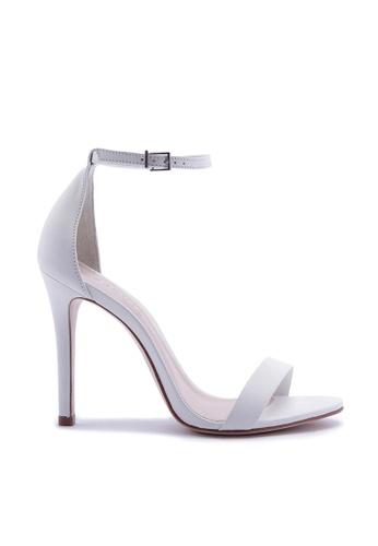 Schutz white Ankle Strap High Heel Sandal - MAGNOLIA [WHITE] C1164SH2B2C57FGS_1