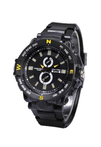 Greatvalueplus black Lyndon Plastic Analog Mens Watch NYA1373 9A88BAC8D0A573GS_1