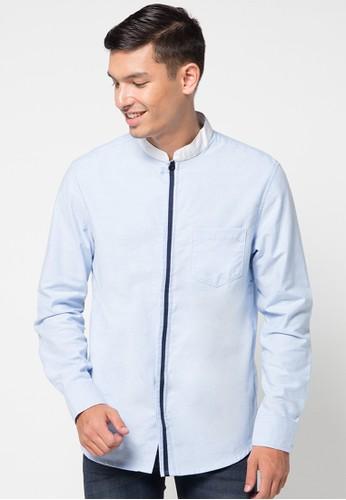 DocDenim blue Men Shirt Denverr 750FFAA52153F4GS_1