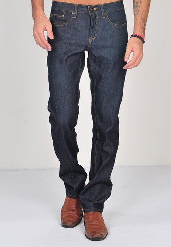 SJO & SIMPAPLY SIMPAPLY's Raw Denim Blue Black Men's Jeans