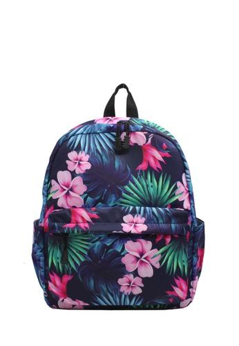 Wanderlust pink and multi Wanderlust Backpack Hibiscus 1D0D7KC6990EF7GS_1