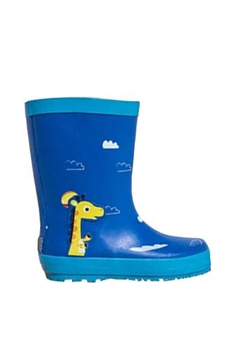 Twenty Eight Shoes blue VANSA Stylish Cartoon Mid Rain Boots VSK-R15284 B63F2KS95858B5GS_1