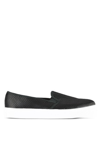 TOPSHOP black Tempo Slip Ons TO412SH0RSNEMY_1