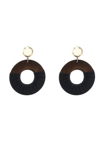ALDO black Iboedda Earrings 4F55CAC1BF5F85GS_1