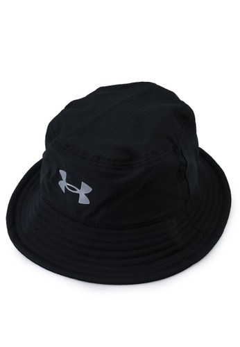 Under Armour black Isochill Armourvent Bucket hat 8715AAC5789BFBGS_1