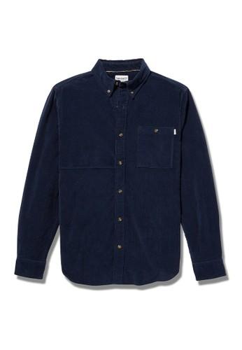 Timberland blue Timberland Men Long Sleeve Corduroy Reg Shirt-TB0A2F45433 6BE0FAA554DF07GS_1