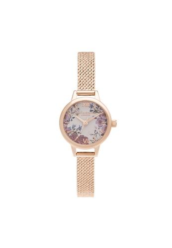 Olivia Burton pink Olivia Burton British Blooms Blush & Floral Women's Watch (OB16EG156) 651B1AC24ACC24GS_1