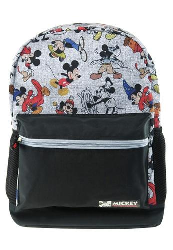 Disney Mickey black Disney Mickey Mouse Teen Backpack 157FBKCB06EA5BGS_1