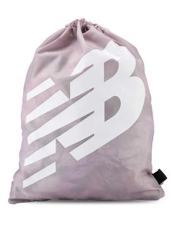 New Balance pink NB Cinch Sack Bag 5F903AC01D2F06GS_1
