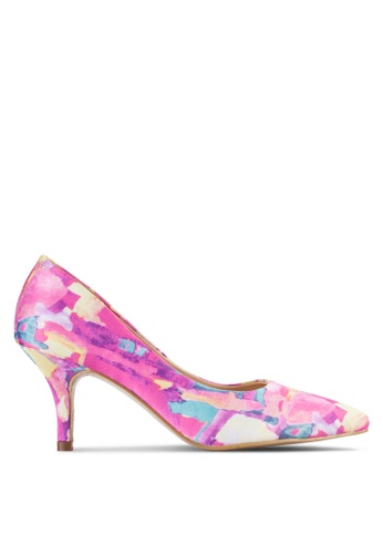 Sunnydaysweety pink Trendy Printed High Heel A0212PI 9D397SH1A5C2DDGS_1