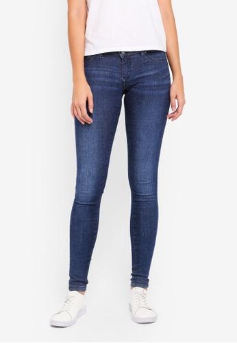Dr Denim blue Kissy Skinny Jeans 6AFE1AA1E23847GS_1