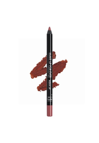 MAKE UP FOR EVER pink AQUA LIP - Waterproof Lip Liner Pencil 1,2G 14C C48EFBEC322DB4GS_1