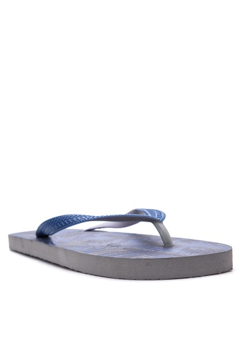 BENCH blue Printed Slippers BE550SH23EJSPH_1