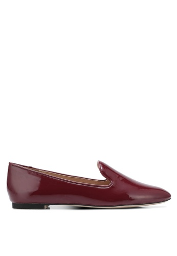 ZALORA 紅色 Patent Loafers 36C1DSH212FC92GS_1