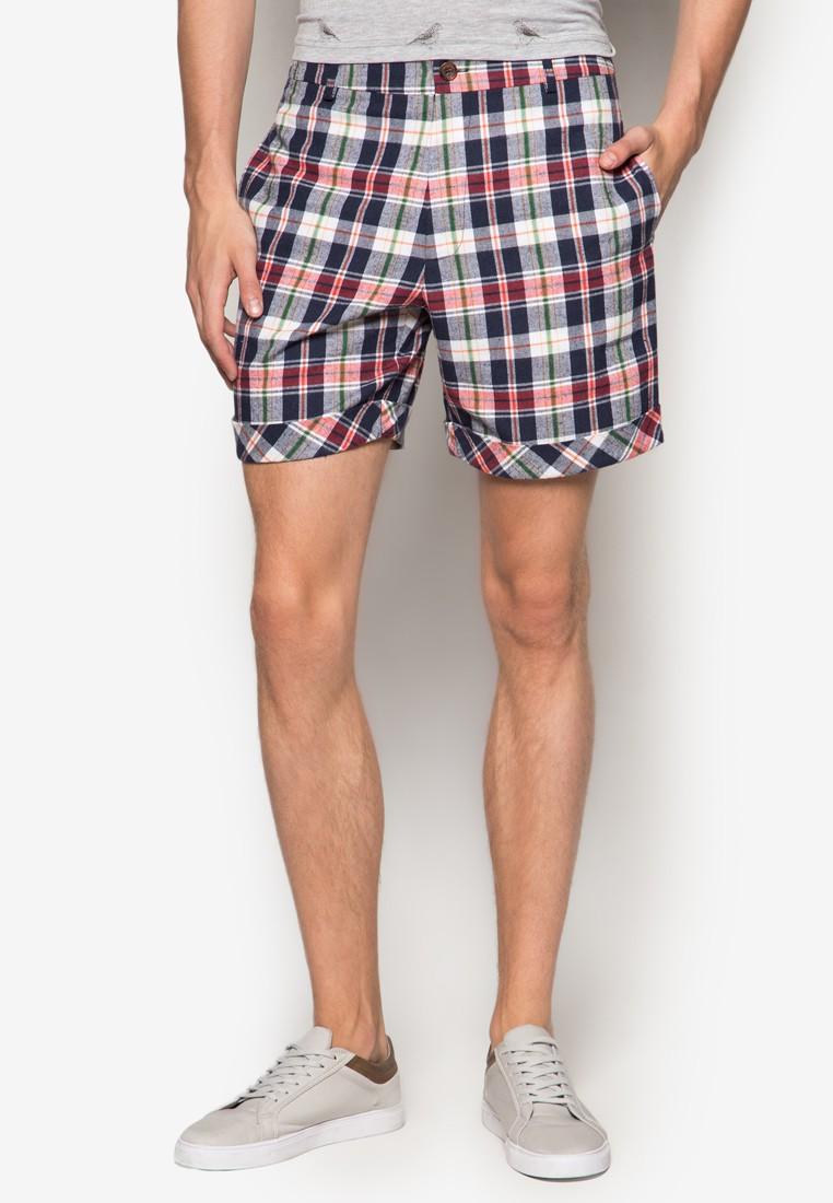 Checkered 7 Shorts
