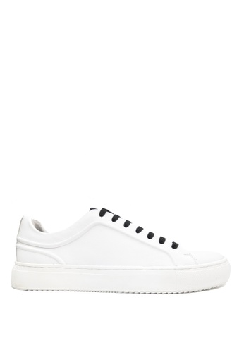 Kenneth Cole New York white ELITE SNEAKER B - Casual Lace-Up Sneaker C3913SHA3514E3GS_1