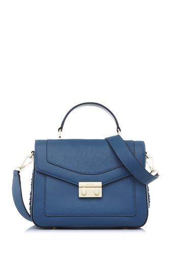 BONIA blue Bonia Blue Soho Satchel M FB776ACFC9F523GS_1