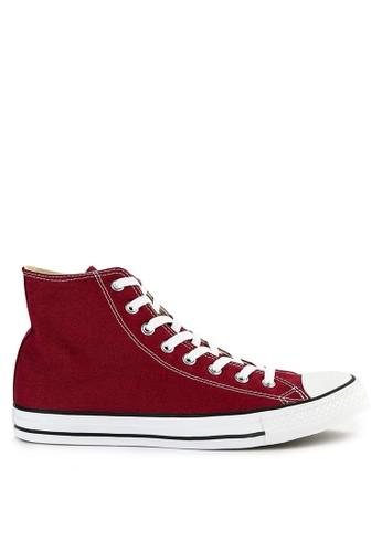 Converse red Chuck Taylor All Star Canvas - Hi 6A741SHCB3F0E2GS_1