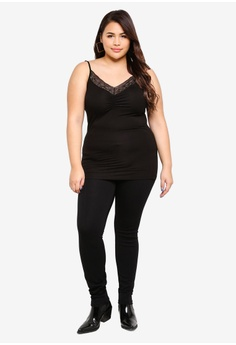 32dabe7cff673 47% OFF Junarose Plus Size Lace Singlet S  42.90 NOW S  22.90 Sizes S M L XL
