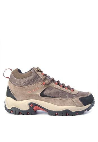 Columbia brown Granite Ridge Mid Waterproof Men's Shoes CO143SH0KCVJPH_1