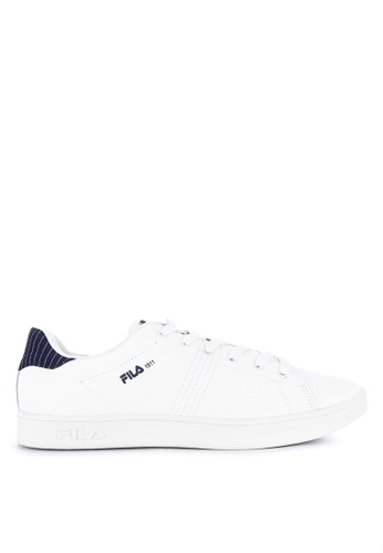 Fila white and multi Fc Andre Sneakers B95FESHBBFB733GS_1