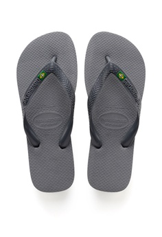 870280c11 Havaianas Havaianas Brasil Steel Grey S  39.00. Available in several sizes