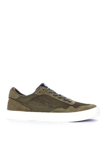 SONNIX green Barc Vulc Q318 Sneakers with Free Exclusive Sonnix Backpack 41872SH0443E5BGS_1