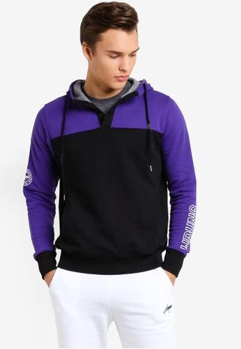 Wrung purple Dem Hoodie WR395AA98MPDMY_1