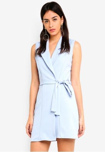 c633485039d8f7 Buy MISSGUIDED Sleeveless Blazer Dress Online on ZALORA Singapore