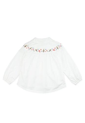 Vauva white Vauva Girls Fantasy Forest Casual Shirt - White 7BDC9KA3E4EBA4GS_1