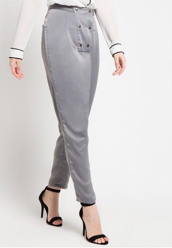 (X) S.M.L grey Berna Duo Pants XS330AA69ZECID_1