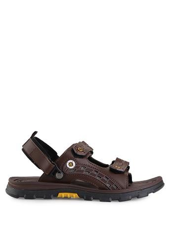 Homyped brown Bromo 01 Men Sandal Gunung HO842SH50GYRID_1