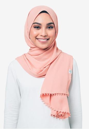 UMMA pink The Dusk Basic Scarf B8F8DAAAFD8EEEGS_1