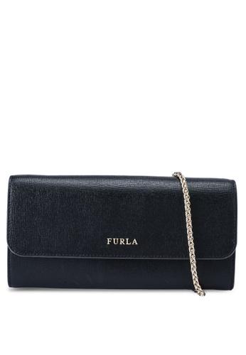 Furla black Babylon XL Chain Wallet 91CCFAC0D4BF7AGS_1