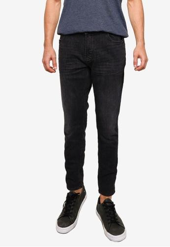 !Solid grey Joy Slim Fit Jeans 64B1EAA026890BGS_1