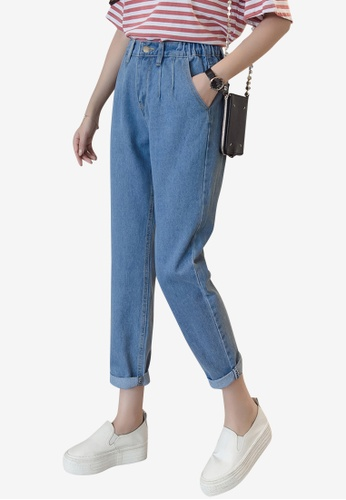 Lara blue Denim Ankle Jeans 3B921AA78D6AFCGS_1