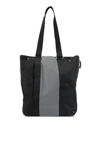 Calvin Klein black Expandable Tote Bag - Calvin Klein Performance 6A68DAC92619DCGS_1